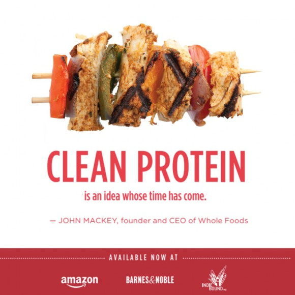 Clean protein book cover