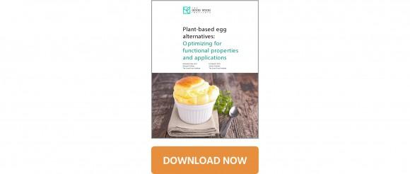 Plant-based egg alternatives white paper