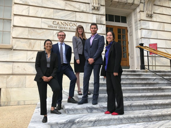 New harvest's isha datar, research assistant andrew stout, gfi's jessica almy, just's andrew noyes, and congressional aide and aaas fellow yasmeen hussain.