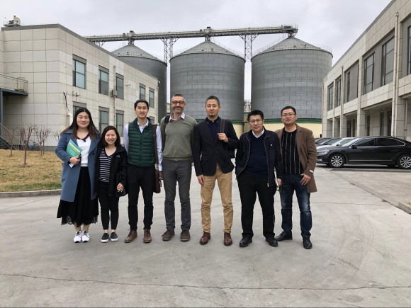 Gfi team visiting the china plant-based food alliance