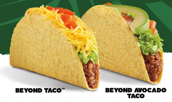Del taco beyond avocado tacos