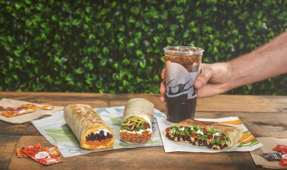 Taco bell's vegetarian menu items