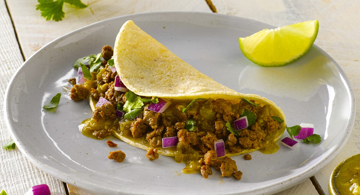 Impossible taco