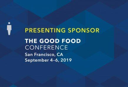 Presenting Sponsor Good Food Conference
