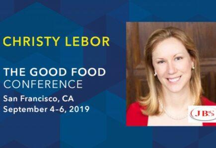 Christy Lebor Good Food Conference