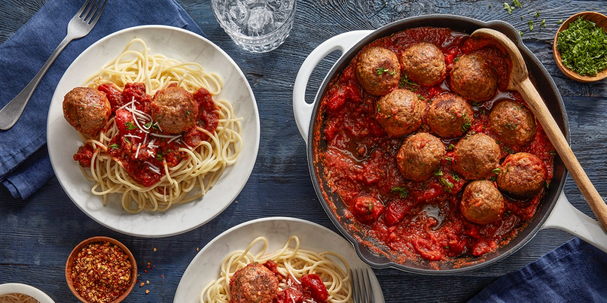Https://gfi. Org/wp content/uploads/2019/08/beyond beef meatball spread image credit beyond meat