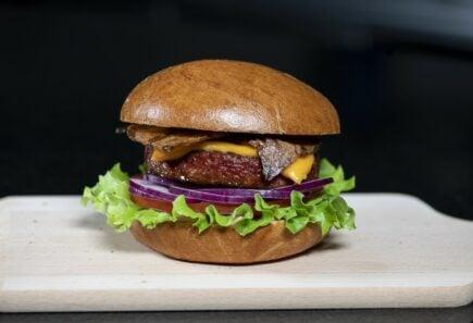 Nestle pb triple threat plant-based burger