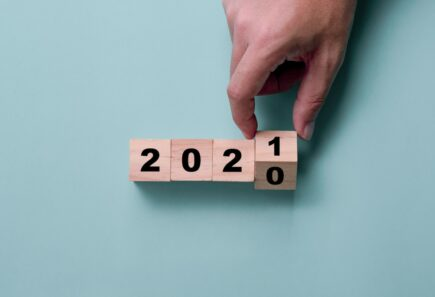 Hand turning blocks from 2020 to 2021