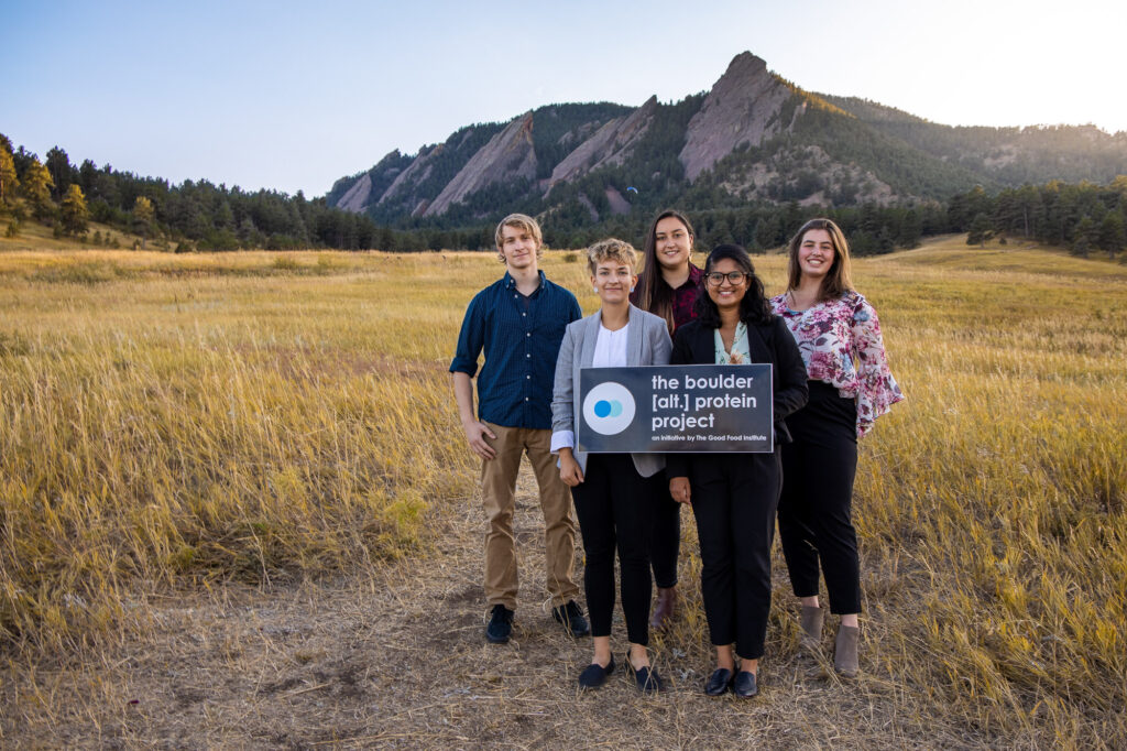Boulder alt protein project student group, an initiative of the good food institute
