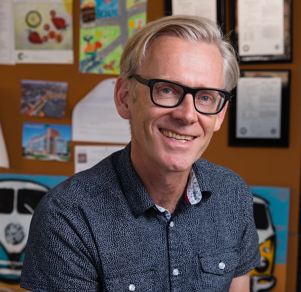 GFI grantee Dr. David Julian McClements, Distinguished Professor, Fergus Clydesdale Endowed Chair, Department of Food Science, University of Massachusetts, USA