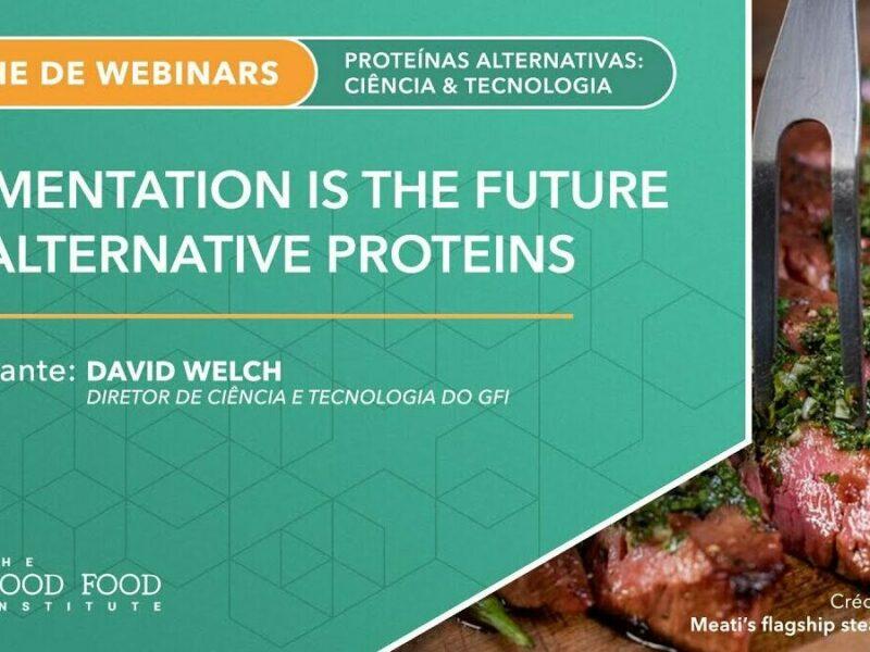 Fermentation is the future of alternative proteins webinar title slide