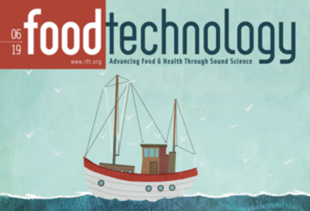 Food Technology cover image of an illustrated boat on water