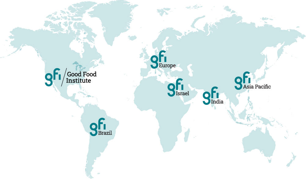 World map showing each of the GFI affiliate locations