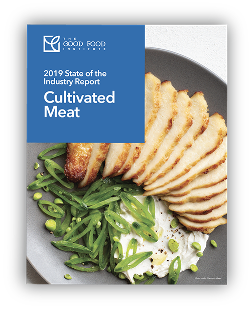 Cultivated Meat State of the Industry Report Cover Artwork
