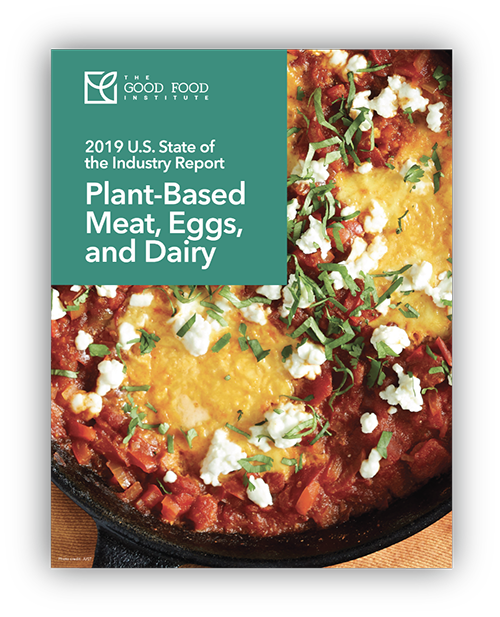 Plant-based State of the Industry Report cover artwork