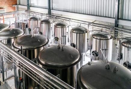 Stainless steel tanks for fermentation