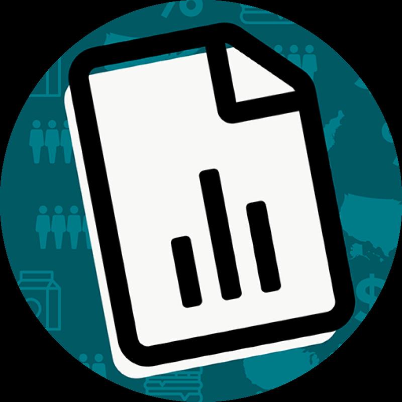 GFI retail data icon