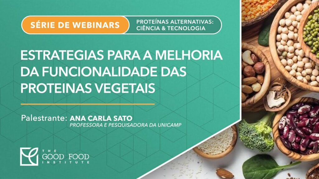 Cover slide for webinar presentation on cassava proteins for plant-based meat