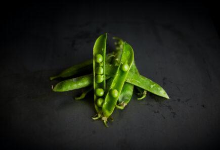 Moody pile of peas