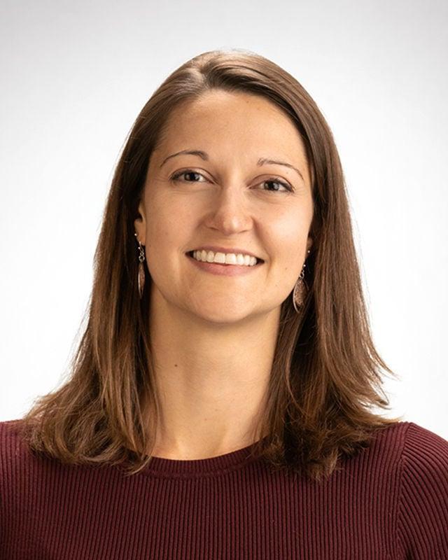 Headshot of Liz Specht, Ph.D.