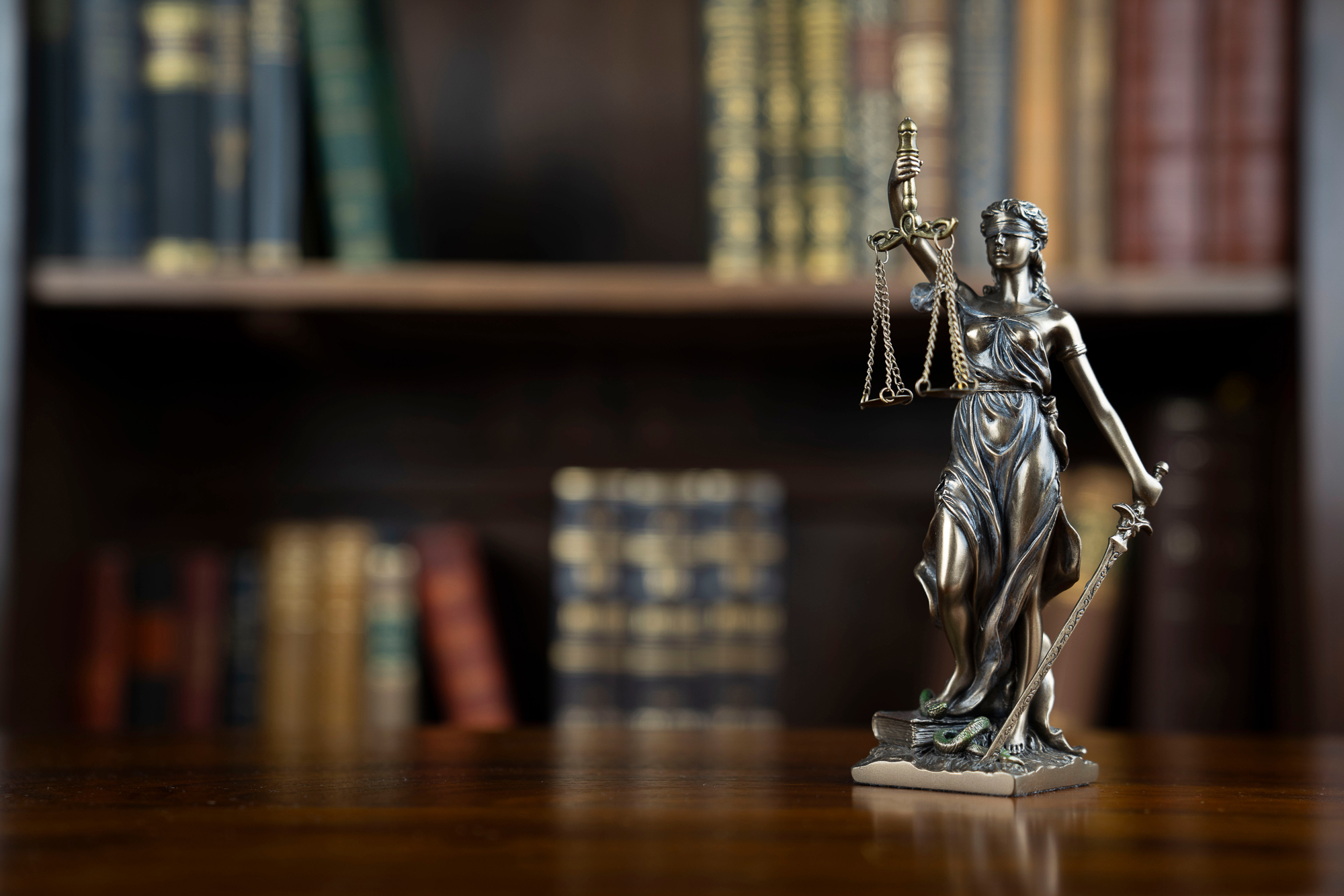 Lady justice with scale