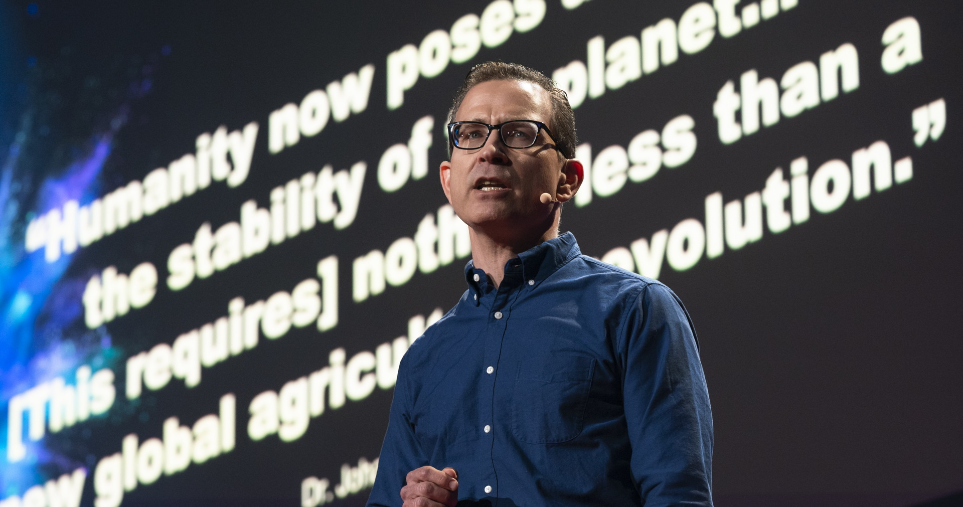 Gfi executive director bruce friedrich presenting at ted