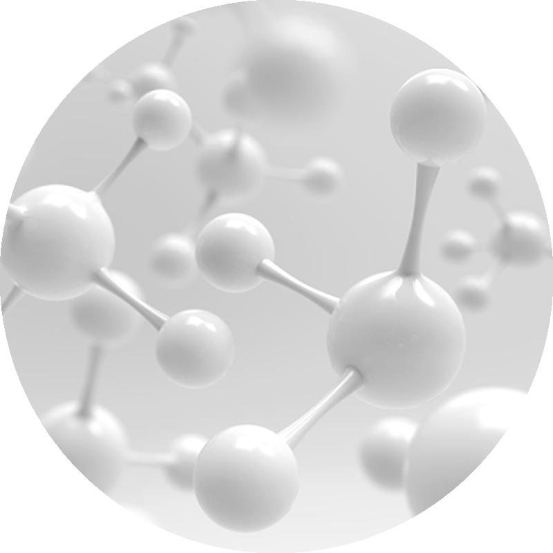 White molecules