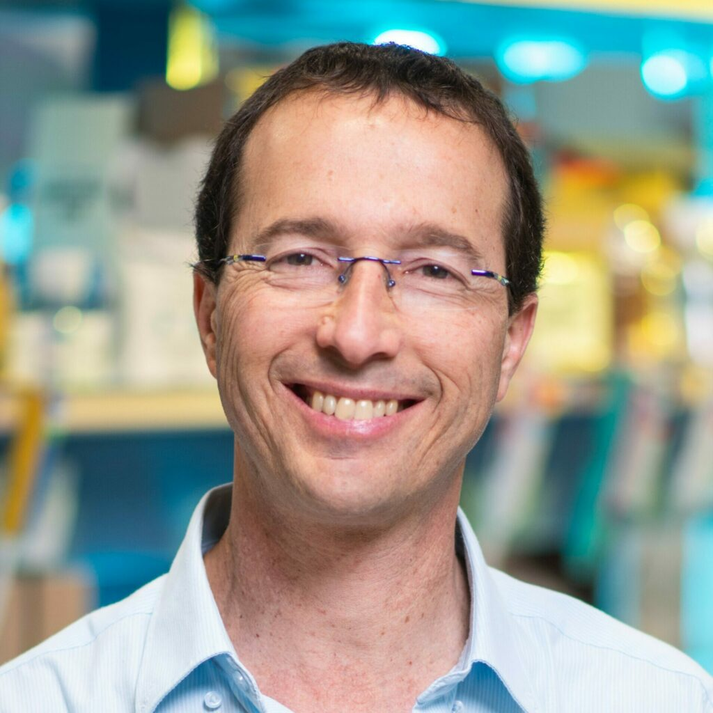 GFI grantee Dr. Yoav Livney, Professor, Department of Biotechnology and Food Engineering, Technion, Israel Institute of Technology, Israel
