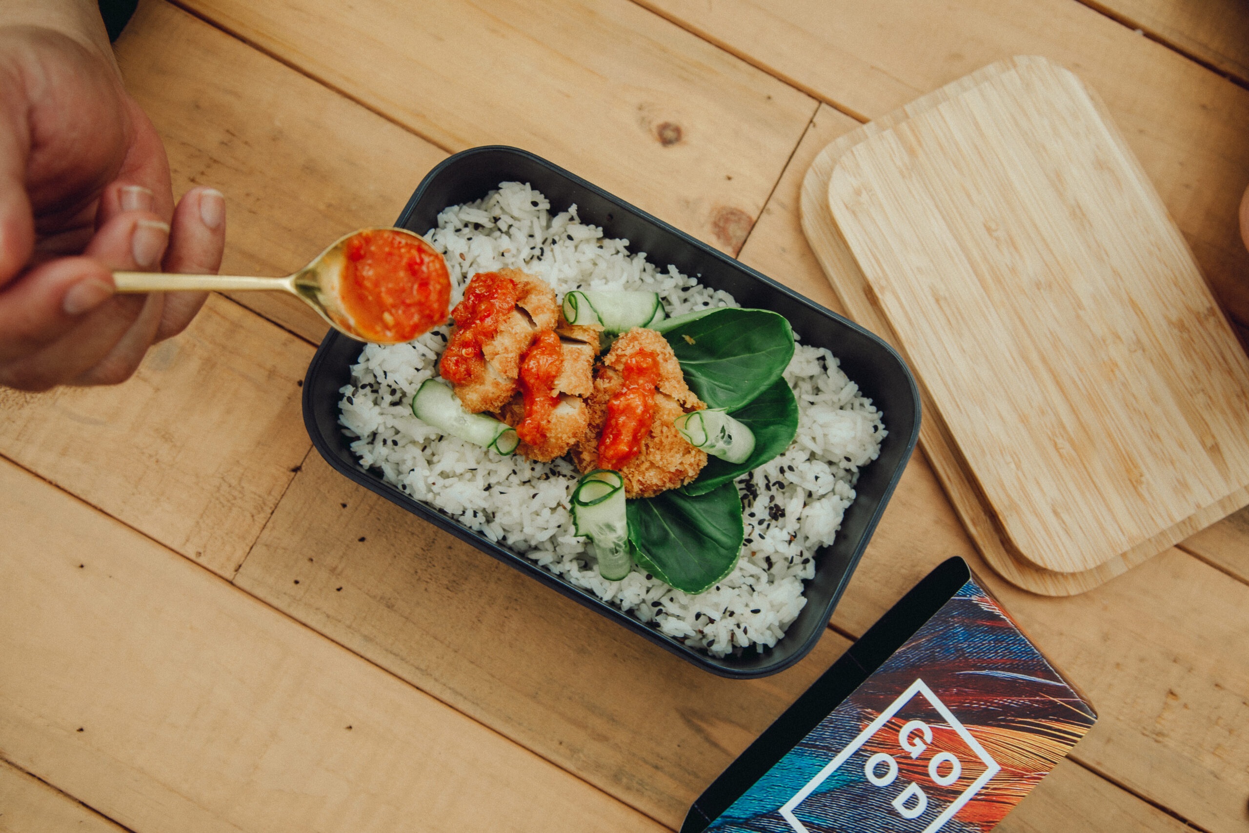 Eat just cultivated chicken foodpanda delivery launch plating v13