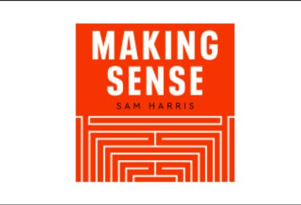 Logo for the making sense podcast by sam harris