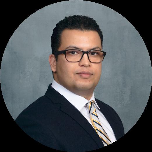 Headshot of gfi grantee dr. Reza ovissipour, assistant professor, virginia tech, usa