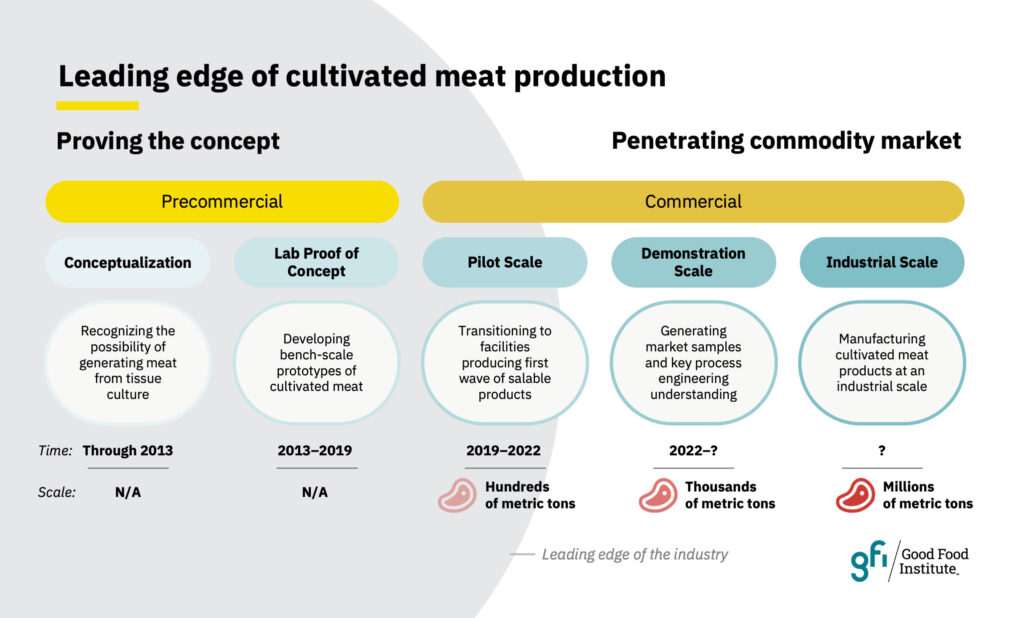 Gfi leading edge of cultivated meat production 2