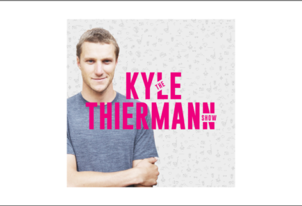 Logo for the kyle thiermann podcast