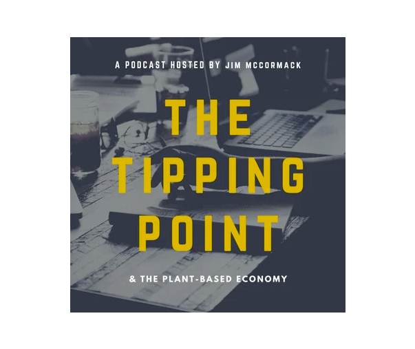 Logo for the tipping point podcast