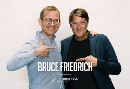 Bruce friedrich and rich roll