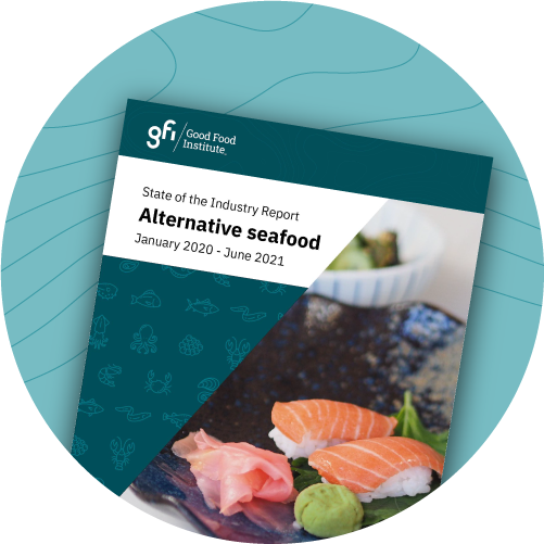 Alternative seafood state of the industry report cover