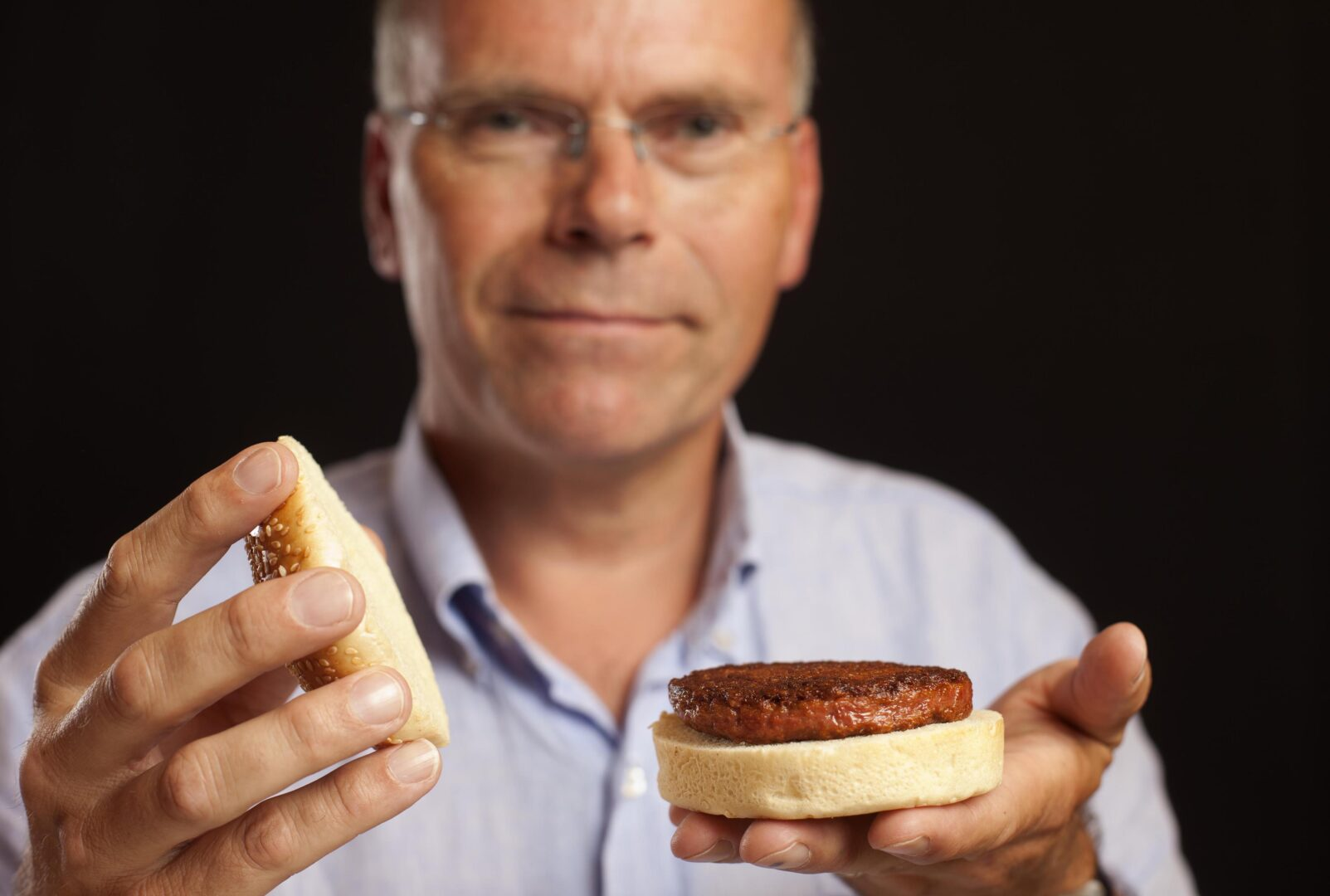 The world's first cultivated meat proof of concept was developed and unveiled by professor mark post in 2013.