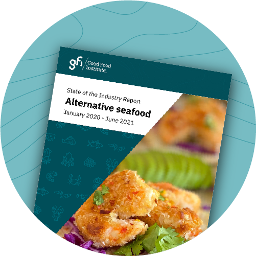 Alternative seafood industry report graphic